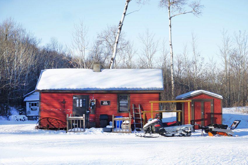 Blue Mountain Adventure Park main cabin
