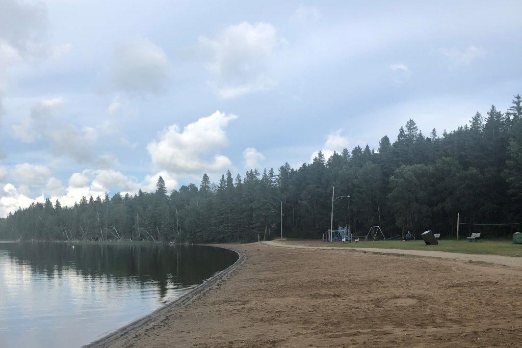 Madge Lake SK Beach